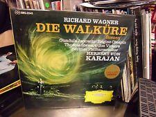 Richard Wagner Die Walkure Japan Import [Herbertvon Karajan] LP DGG EX