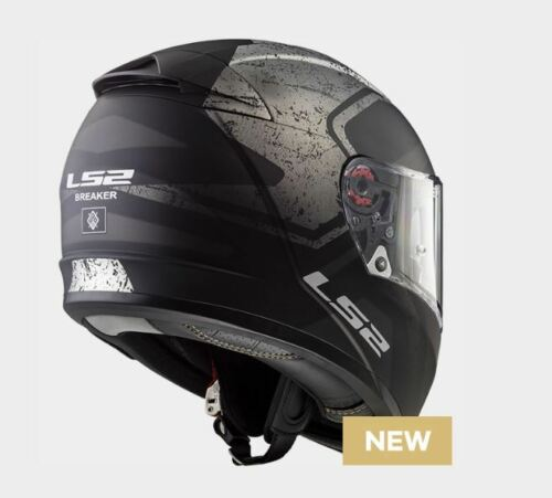 LS2 CASCO ROAD TOURING BREAKER FF390 BOLD MATT BLACK TITANIUM FULL FACE