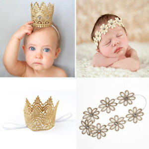 Nice Newborn Baby Girl Infant Crown Headband Clothing, Shoes & Accessories Baby Accessories