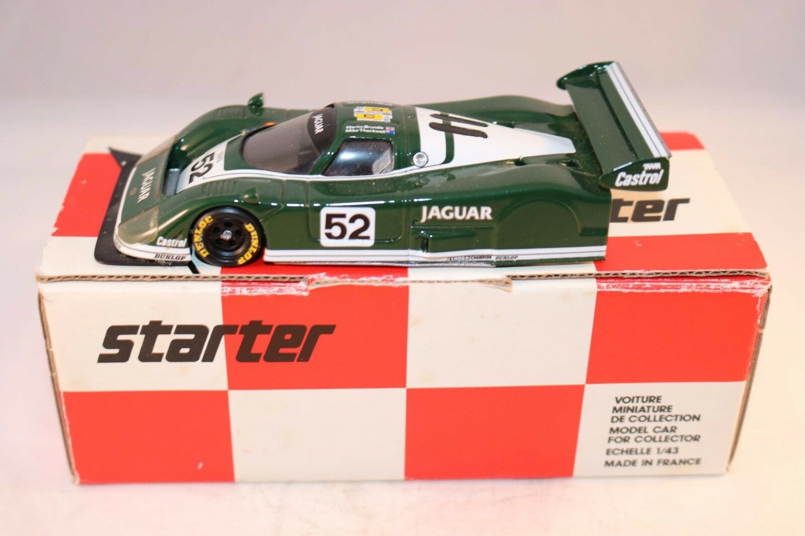 Estrellater o o o Amr Jaguar xjr 6 Metal Rep 480 Andre M. RUF muy poco frecuente b09