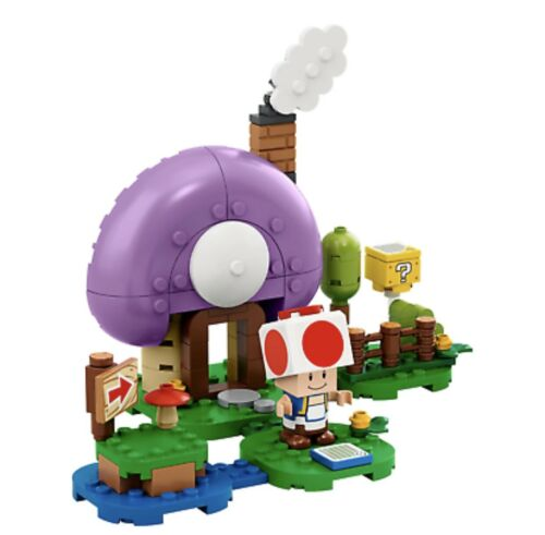 Lego Toad's Special Hideaway Super Mario Expansion Limited Edition 77907 SDCC