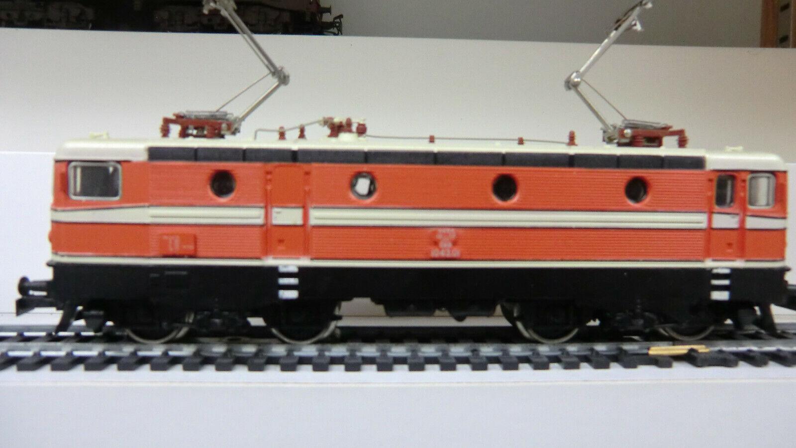 E-Lok Baureihe 1043 der ÖBB, Orangerot