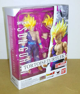 BLUEfin Bandai S.H.Figuarts Super Saiyan Son Gohan Dragon Ball Z Action Figure
