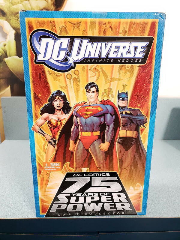 DC Universe Infinite Heroes DC Comics 75 Years Super Power Mattel New Sealed