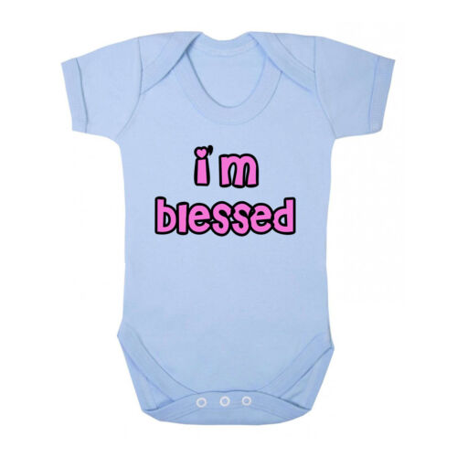 I/'M Blessed Cotton Baby Bodysuit One Piece