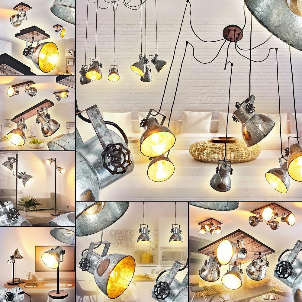 Hänge Pendel Decken Steh Tisch Lampen Retro Wohn Ess Schlaf Zimmer Beleuchtung