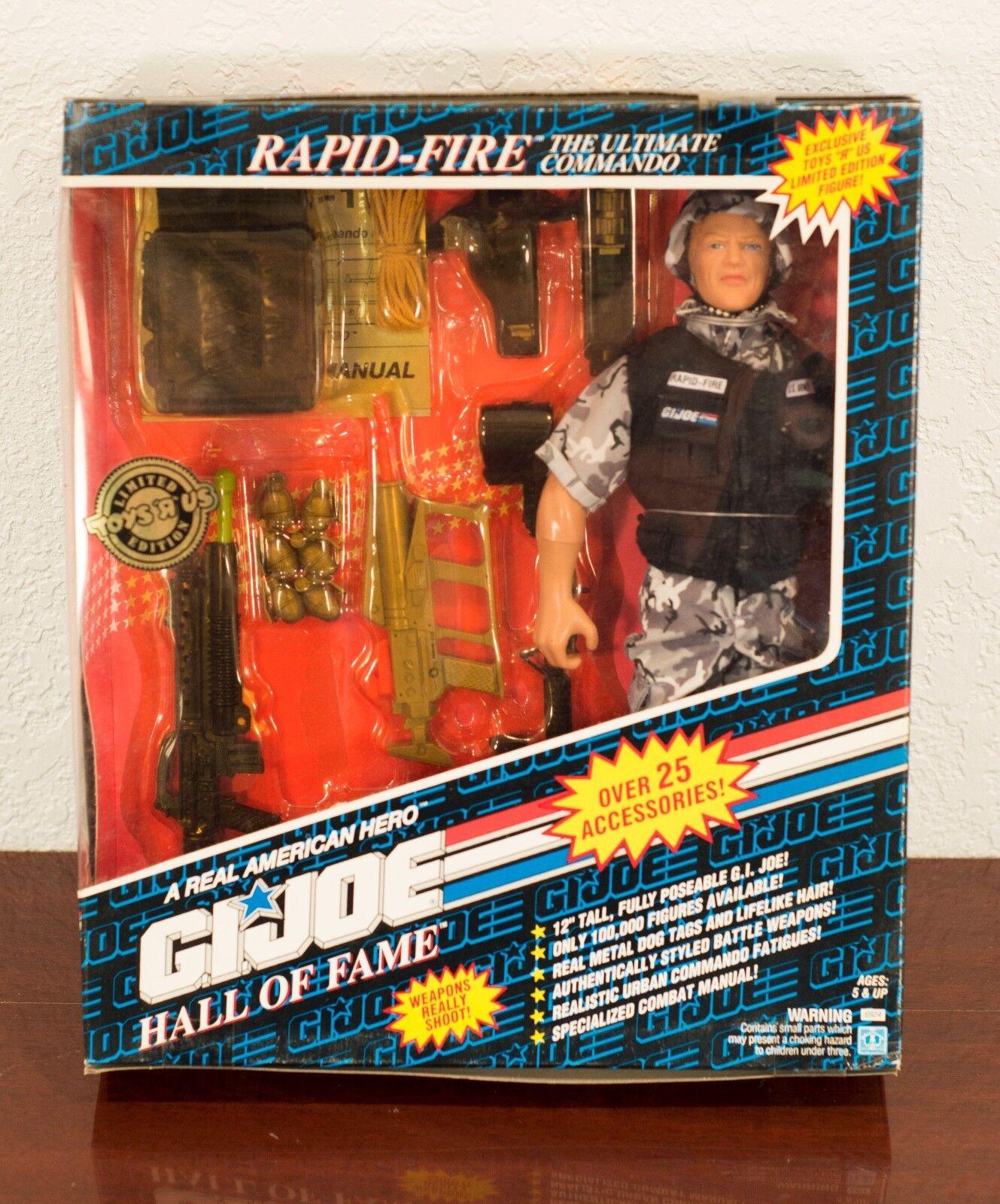 1991 GI JOE HALL OF FAME RAPID-FIRE ACTION FIGURE MIB
