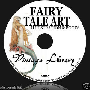 850-FAIRY-TALE-ILLUSTRAIONS-amp-88-PDF-BOOKS-ON-DVD-image-trolls-fairies-painting