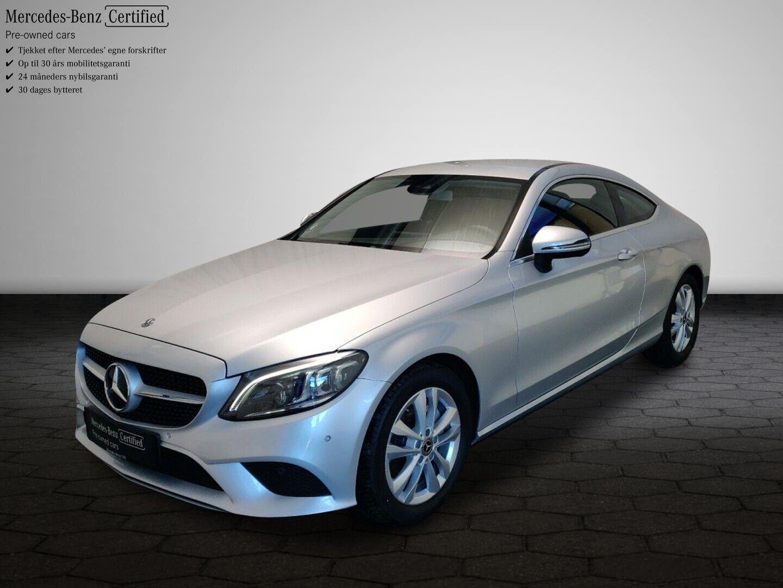Mercedes C200 1,5 Coupé aut. 2d - 9.875 kr.