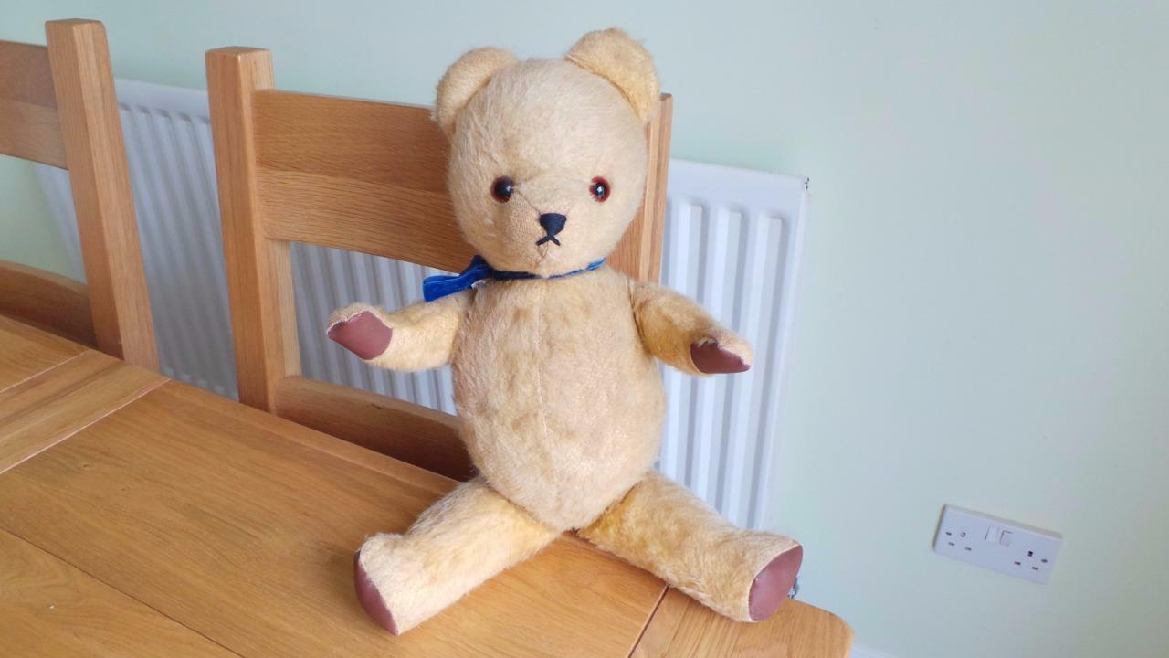 Za281   Early Post War Teddy Bear - 17  Tall