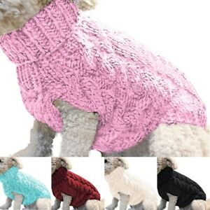 Small-Dog-Knit-Jacket-Sweater-Pet-Cat-Puppy-Coat-Clothes-Warm-Costume-Apparel