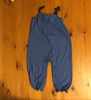 New No Tag Blue Disciplined Baby Girl Romper Jumpsuit Gymboree 18-24m