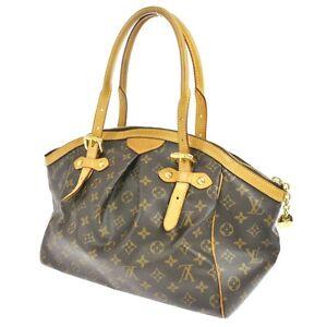 b6fb214e9cf7 Auth Louis Vuitton Tivoli GM Shoulder Tote Bag Monogram Purse M40144 ...