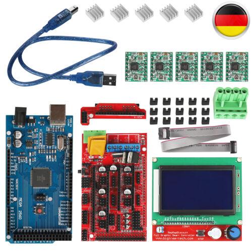 12864 LCD Controller Für Arduino B DE Mega2560 A4988 3D Drucker Kit RAMPS 1.4