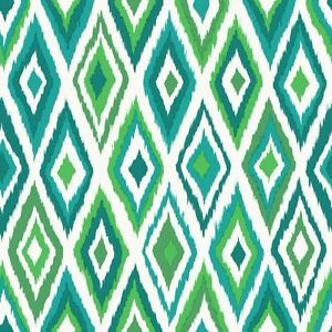 Rasch-Wallpaper-Cabana-148632-Rhombus-green-Fleece-Designer