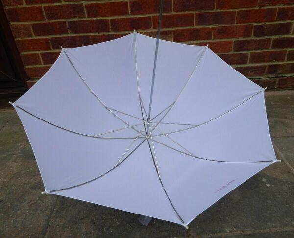 """Proline 40""""/105cm Blanc Tirer à Travers Studio Flash Parapluie Emballage De Marque NomméE"""