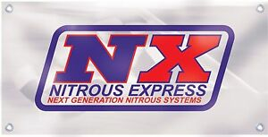 NEW NX Nitrous Express Muscle Car Banner Retro Vintage Logo Emblem Sign Replica