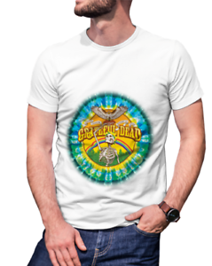 Grateful Dead Legend Band Mens White T-Shirt Tee RARE ITEMS