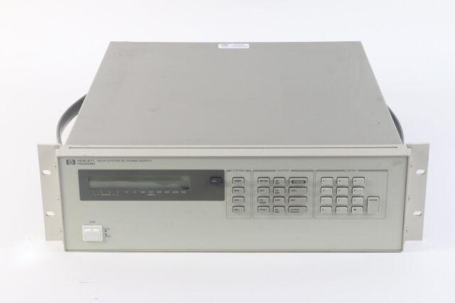 HP 6624A DC Power Supply, Quad-Output W/ Rack Mount