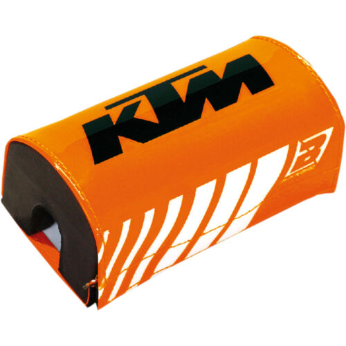 Blackbird KTM Lenkerpolster Eckig Fatbar Pad Orange Schwarz Factory