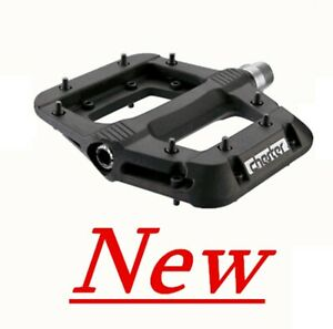 Race-Face-Chester-Pedals-Platform-Mountain-Bike-Pedals-9-16-034-Black-New