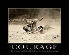 Harley Davidson Motorcycle Racing Motivational Poster Art Helmets Jacket MVP15