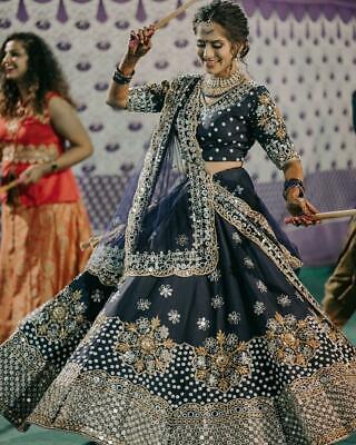 BRIDAL WEDDING DESIGNER INDIAN BOLLYWOOD WOMEN LENGHA PARTY WEAR LEHENGA CHOLI