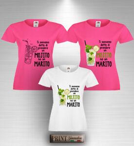 T-shirt-Addio-al-Nubilato-MOJITO-NO-UN-MARITO-Maglietta-Divertente-Sposa