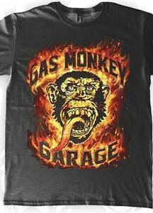 GAS-MONKEY-GARAGE-FLAME-MONKEY-DESIGN-T-SHIRT-S-2XL-NEW-DESIGN-LICENSED-WTH-TAGS