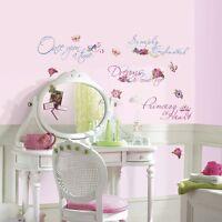 Disney Princess Quotes Wall Decals Appliques - Nursery, Kids - Peel & Stick