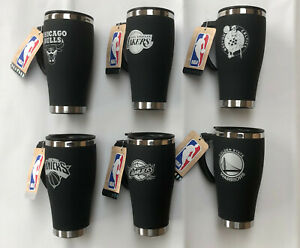 Thermal Travel Mug Insulated Coffee Flask - Official NBA Basketball 450mL
