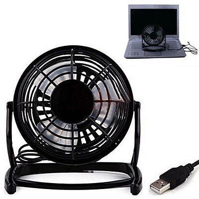 Notebook Laptop Computer Portable Super Mute PC USB Cooler Desk Mini Fan BE