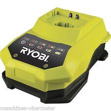 Ryobi Ladegerät One plus, Schnellladegeraet BCL14181H für 18V Ryobi Li-Io Akkus
