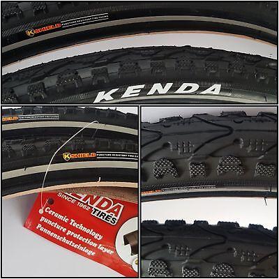 2 x Fahrradreifen Kenda 28 Zoll 45C 28x1.75 47-622 28 700x45C inklusive 2 x 28 Schlauch mit Dunlopventil ST