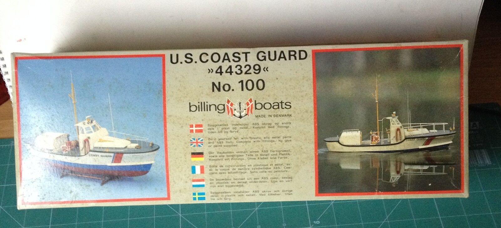 Billing Boats-B 100-U.s Coast Guard Modelo Barco Kit 1 40 Escala Nuevo En Caja
