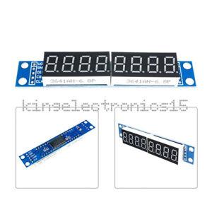MAX7219 LED Dot matrix 8Digit Digital Display 0.56 Anode Tube Module For Arduino