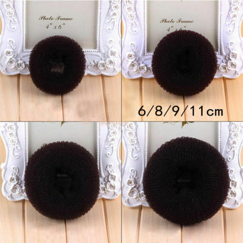 Hair Bun Mesh Maker Shaper Doughnut Former Ring Twist Styler Hair Accessories