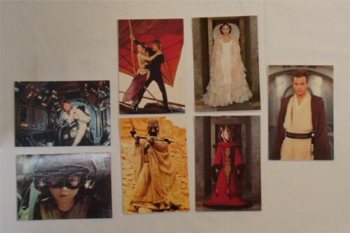 Inc Luke Skywalker, Anakin Skywalker e la Regina Amidala STAR Wars CARTOLINE x7