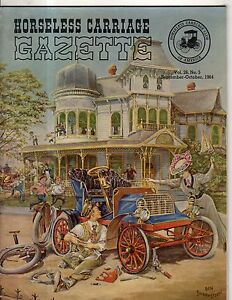 Image Is Loading 1964 Horseless Carriage Gazette September Mercedes Benz  Grand