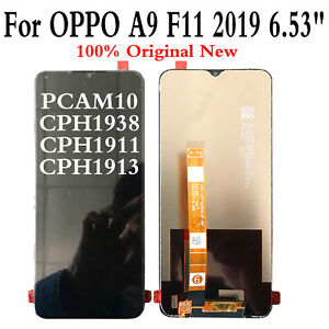 Black LCD Screen LCD Screen and Digitizer Full Assembly for Oppo A9 // F11 Color : Black Repair Parts