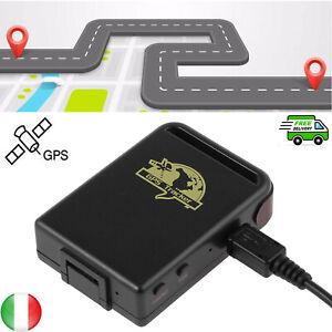 GSM GPRS GPS TRACKER LOCALIZZATORE SATELLITARE CON Cavo USB PER AUTO MOTO TK102