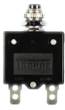 Techna T1620 Thermal Circuit Breaker Panel Mount Push-to-Reset 20 amps 32V DC
