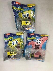 2016-Hot-Wheels-Spongebob-Squarepants-1-55-Diecast-Character-Car-Patrick-lot-3