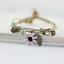 miniature 16 - Bracelet Flower Daisy Beads Girls Ceramic Charm Jewellery Silver Ankle Girls