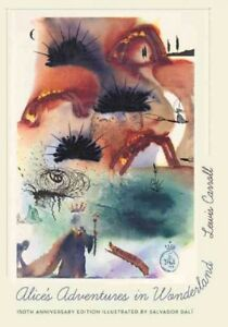 Alice-039-s-Adventures-in-Wonderland-Hardcover-by-Carroll-Lewis-Dali-Salvador