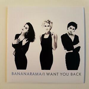 BANANARAMA-Limited-Edition-CD-I-WANT-YOU-BACK-12-034-REMIXES-MEGAMIX-10-034-MIX