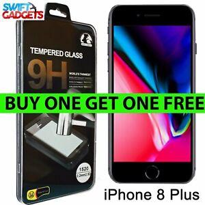Pour-iPhone-8-Plus-Protection-d-039-ecran-verre-trempe-Crystal-Clear