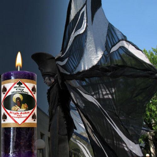 Motor City Hoodoo ~ Erfolg And Power in Spells Ritual Kerze High John Kerze