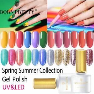 BORN-PRETTY-Spring-Summer-Collection-UV-Gel-Polish-Multiple-Colors-Nail-Art-6ml