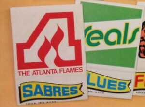 1973-74 73-74 Topps NHL TEAM INSERT STICKERS - Many Stickers to Pick From